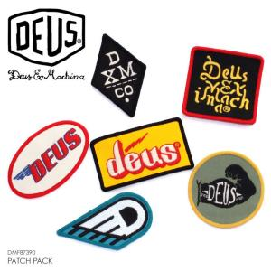 DEUS EX MACHINA デウスエクスマキナ ワッペン セット PATCH PACK  DMF87390|3direct