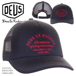 DEUS EX MACHINA デウスエクスマキナ キャップ メンズ BLEACHED HARAJUKU  DMF87393D|3direct