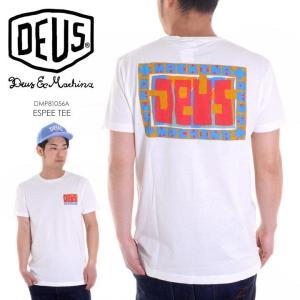 SALE セール DEUS EX MACHINA Tシャツ メンズ ESPEE TEE 2018春 DMP81056A ホワイト S/M/L|3direct