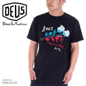DEUS EX MACHINA Tシャツ メンズ INTRIGUE TEE 2018春 DMP81121C ブラック S/M/L|3direct
