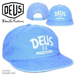 DEUS EX MACHINA キャップ メンズ FOAMIE CAP 2018春 DMP87084 ブルー ワンサイズ|3direct