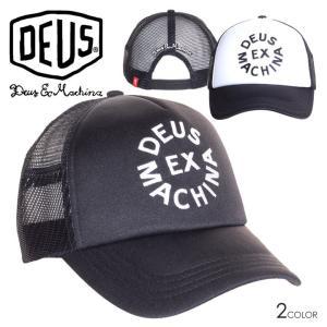 SALE セール DEUS EX MACHINA デウスエクスマキナ キャップ メンズ CIRCLE LOGO TRUCKER 3direct
