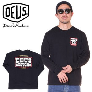 SALE セール DEUS EX MACHINA デウス Tシャツ ロンT メンズ CORKER TEE|3direct