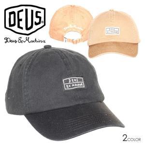 SALE セール DEUS EX MACHINA デウスエクスマキナ キャップ メンズ CAS CAP 3direct