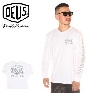 SALE セール DEUS EX MACHINA デウスエクスマキナ Tシャツ ロンT メンズ ROPED IN LS TEE 2019春夏|3direct