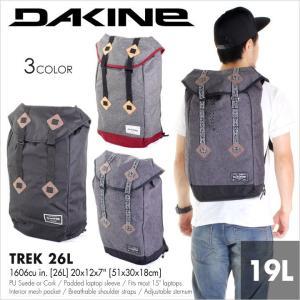 リュック メンズ DAKINE TREK 26L - AG237100 - AG237-100 ダカイン リュック バックパック ロールバック 通学 通勤 旅行 大容量 丈夫 新作 日本正規取扱い店|3direct