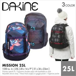 DAKINE リュック レディース WOMEN'S MISSON 25L AH237343 AH237-343 2017秋冬 ブラック/マルチカラー|3direct