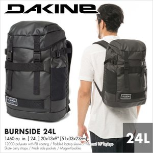 DAKINE リュック メンズ BURNSIDE 24L AI237073 AI237-073 2018春夏 ブラック 24L|3direct
