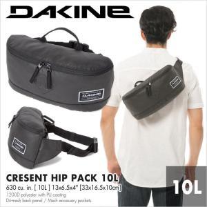 DAKINE バッグ メンズ CRESCENT HIP PACK 10L AI237077 AI237-077 2018春夏 ブラック 10L|3direct