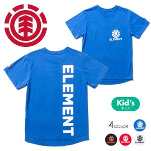 ELEMENT Tシャツ キッズ FRAME SS BOY AI025-302 2018春夏 ブラック/レッド/ブルー/ホワイト 130/140/150/160|3direct