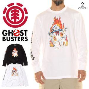 ELEMENT x GHOSTBUSTERS エレメント x ゴーストバスターズ Tシャツ ロンT メンズ INFERNO LS 2020秋冬|3direct