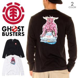 ELEMENT x GHOSTBUSTERS エレメント x ゴーストバスターズ Tシャツ ロンT メンズ CRUSHED LS 2020秋冬|3direct