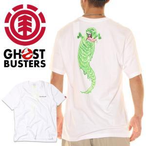 ELEMENT x GHOSTBUSTERS エレメント x ゴーストバスターズ Tシャツ メンズ GOOP SS 2020秋冬|3direct