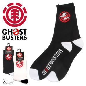 ELEMENT x GHOSTBUSTERS エレメント x ゴーストバスターズ ソックス 靴下 メンズ 2020秋冬|3direct
