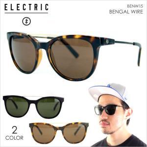 サングラス メンズ ELECTRIC BENGAL WIRE - BENW15 サングラス エレクトリック UVカット ブルーライトカット|3direct