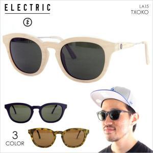 サングラス メンズ ELECTRIC LA TXOKO - LA15 ELECTRIC サングラス エレクトリック UVカット ブルーライトカット イタリア製 2017 17 夏 新作|3direct