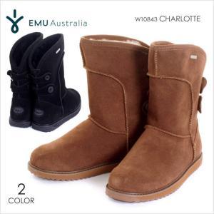 EMU ブーツ レディース CHARLOTTE W10843 2017秋冬 ブラック/ブラウン 23-25cm|3direct