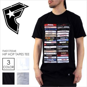 Tシャツ メンズ FAMOUS HIP HOP TAPES TEE - FM01170048 フェイマス フォト プリント パンクロック ヒップホップ ストリート 半袖 2017 17 春 新作|3direct