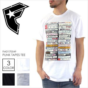 Tシャツ メンズ FAMOUS PUNK TAPES TEE - FM01170048 フェイマス フォト プリント パンクロック ヒップホップ ストリート 半袖 2017 17 春 新作|3direct
