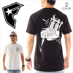 Tシャツ メンズ FAMOUS TAT GUN TEE - FM02170021 Famous Stars And Straps フェイマス・スターズ・アンド・ストラップス|3direct