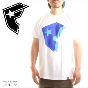 Tシャツ メンズ FAMOUS LISTED TEE - FM02170040 stars & straps フェイマス Fロゴ パロディー プリント ストリート ホワイト 半袖 2017 17 夏 新作|3direct