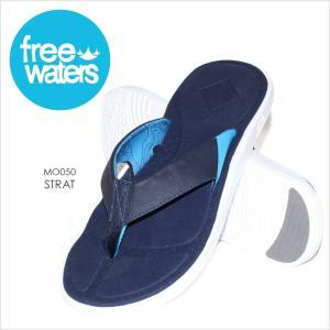 サンダル メンズ FREE WATERS STRAT - MO050 フリーウォータース ビーチサンダル ビーサン サーフ アウトドア 海 プール 男性 靴 2017 17 夏 新作|3direct
