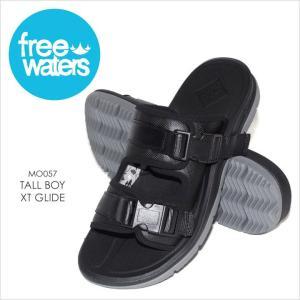 サンダル メンズ FREE WATERS TALL BOY XT GLIDE - MO057 フリーウォータース コンフォートサンダル ストラップ サーフ アウトドア 海 プール 男性 靴 2017 17|3direct