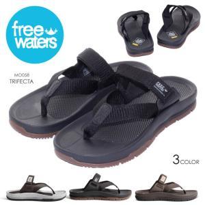 FREE WATERS シューズ メンズ TRIFECTA MO-058 2018春 ブラック/グレー/ブラウン 26cm/27cm/28cm|3direct