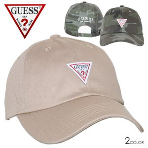 GUESS ゲス キャップ メンズ レディース COTTON TWILL BALL CAP W/ORIGINAL LABEL 2020春|3direct