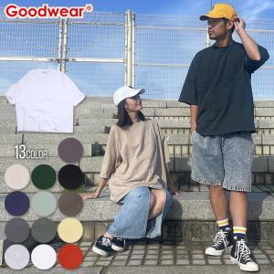 SALE セール GOODWEAR Tシャツ メンズ USAコットンスーパービッグ無地ポケットT - 2W7-2501 2020春夏|3direct