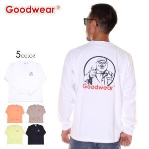 SALE セール GOODWEAR グッドウェア Tシャツ ロンT メンズ MISTER PT. L/S TEE|3direct