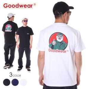 SALE セール GOODWEAR Tシャツ メンズ 四角ポケット付き プリント S/S TEE - 2W7-4506 2019春夏|3direct