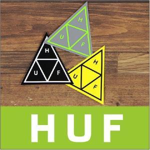 HUF ハフ ステッカー TRIPLE TRIANGLE STICKER / ロゴ アクセサリー 14 2014|3direct