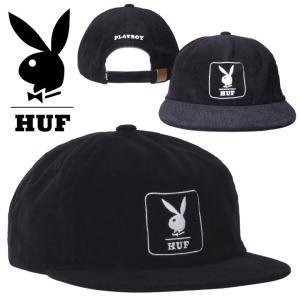 HUF ハフ キャップ メンズ PLAYBOY CORDUROY 5 PANEL CAP 2020秋冬|3direct