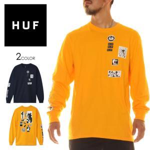HUF ハフ Tシャツ ロンT メンズ MASTERS LS TEE 2020年秋冬|3direct