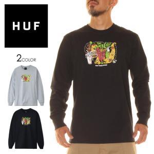 HUF ハフ Tシャツ ロンT メンズ THE MUNCHIES LS TEE 2020年秋冬|3direct