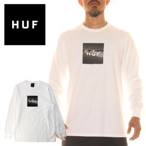 HUF ハフ Tシャツ ロンT メンズ VOYEUR LOGO LS TEE 2020年秋冬|3direct