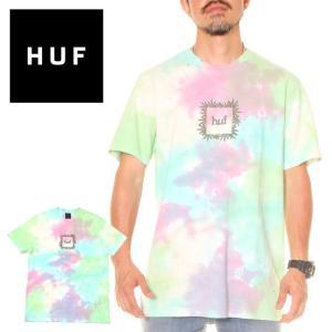 HUF ハフ Tシャツ メンズ OVERGROWN BOX LOGO S/S TEE 2020年春夏|3direct