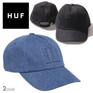 HUF ハフ キャップ ローキャップ 6パネルキャップ ストリート MARKA DENIM 6 PANEL HAT HT00579 3direct