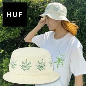 バケットハット 帽子 メンズ レディース 420 マリファナ HUF ハフ GREEN BUDDY TERRY CLOTH BUCKET 2021 3direct