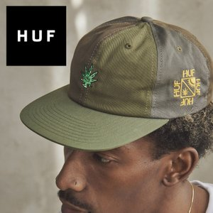 キャップ スナップバック 6パネル 帽子 メンズ レディース 420 マリファナ HUF ハフ EASY GREEN CONTRAST 6 PANEL 2021 3direct
