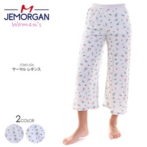 JEMORGAN ジェーモーガン パンツ レディース ブーケ柄ワイドパンツ J8244-596 2018秋冬 フリーサイズ|3direct