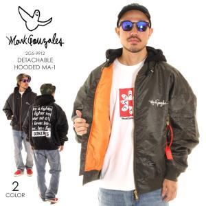 MARK GONZALES マークゴンザレス MA-1 ジャケット メンズ フード脱着スーパービッグMA-1 2G5-9912|3direct