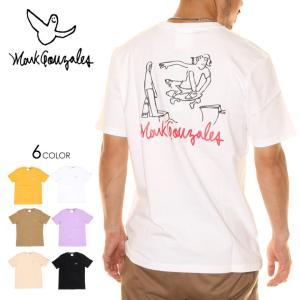 MARK GONZALES マークゴンザレス Tシャツ メンズ SKATER TEE 2020春夏|3direct