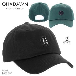 OH DAWN キャップ メンズ BASE CAP 2018春 OA1001 ブラック/グリーン ワンサイズ|3direct
