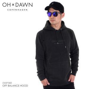OH DAWN パーカー メンズ OFF BALANCE HOOD 2018春 OMSP1820 グリーン S/M|3direct