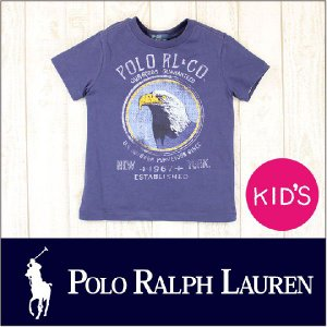 POLO RALPHLAUREN ポロ ラルフローレン Tシャツ キッズ / EAGLE / S/S TEE 半袖 14 2014|3direct