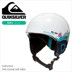 QUICKSILVER ヘルメット キッズ THE GAME MR MEN EQBTL03007 17-18 ホワイト 52cm/54cm|3direct