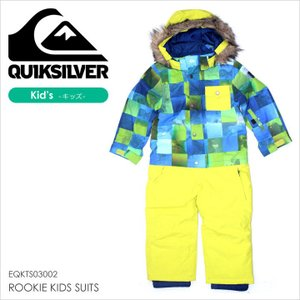 QUICKSILVER スノーボードウェア キッズ ROOKIE KIDS SUITS EQKTS03002 17-18 マルチカラー 100/110/120|3direct