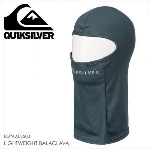 QUICKSILVER ネックウォーマー メンズ LIGHTWEIGHT BALACLAVA EQYAA03503 17-18 ブラック/黒 フリーサイズ|3direct